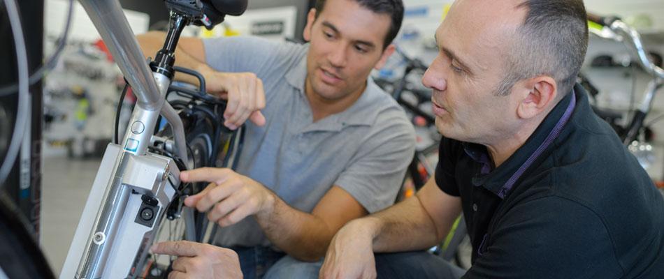 Réparations et achat de batteries pour vélos électriques en ligne
